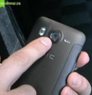 HTC Desire HD камера