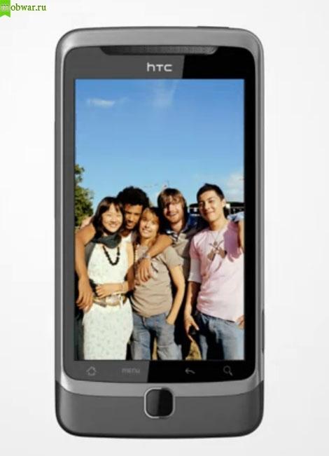 Обзор HTC Desire Z - дисплей