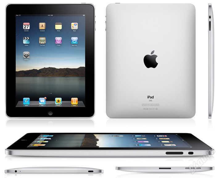 Apple iPad Wi-Fi – технические характеристики