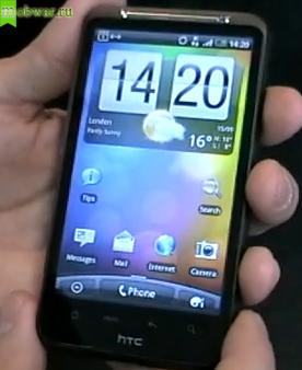 Анонс обзора HTC Desire HD – технические характеристики