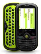 alcatel OT-606 One Touch CHAT – технические характеристики