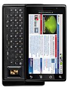 Motorola MOTO XT702 – технические характеристики