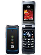 Motorola W396 – технические характеристики