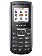 Samsung E1100 – технические характеристики