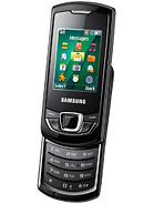 Samsung E2550 Monte Slider – технические характеристики