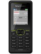 Sony Ericsson K330 – технические характеристики