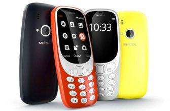 Все цвета Nokia 3310 2017