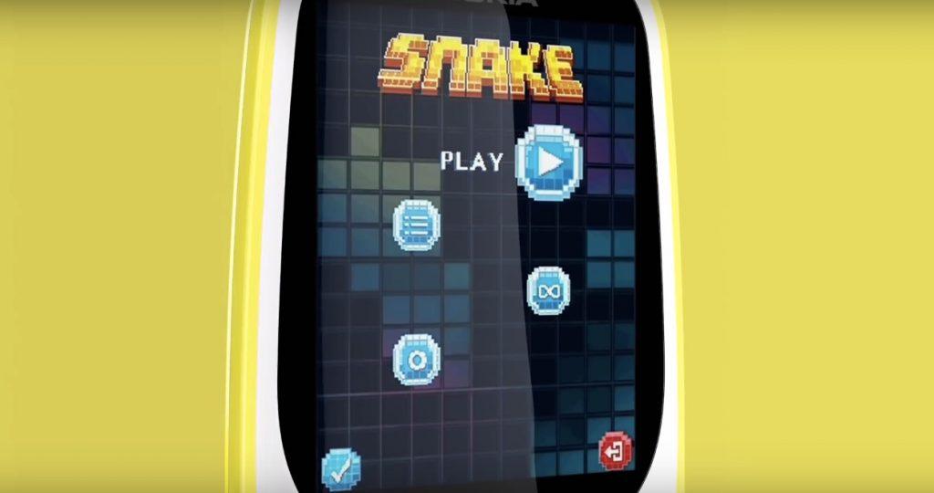 Змейка на Нокиа 3310 2017