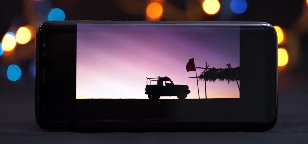 Обзор Samsung Galaxy S8, яркий экран