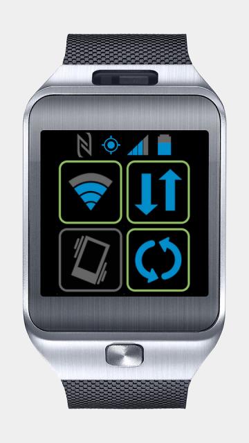 Toggles для Samsung Gear 2